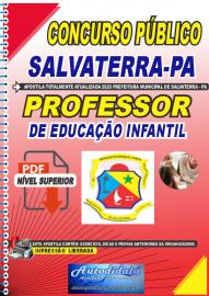 Apostila Digital Concurso Público Prefeitura de Salvaterra - PA  2020 Professor de Educação Infantil