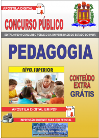Apostila Digital Concurso Universidade do Estado do Pará - UEPA 2019 Pedagogia