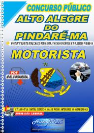 Apostila Digital Concurso Público Alto Alegre do Pindaré - MA 2020 Motorista