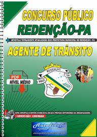 Apostila Digital Concurso Público Prefeitura de Redenção - PA 2020 Agente Municipal de Trânsito