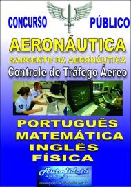 Apostila Impressa Concurso da AERONÁUTICA - PA 2018 - SARGENTO - Controlador de tráfego Aéreo