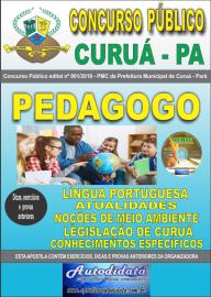 Apostila Impressa Concurso Público Prefeitura Municipal de Curuá - Pará 2019 Pedagogo