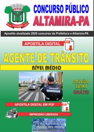 Apostila Digital Concurso Prefeitura de Altamira - PA 2020 - Agente De Trânsito