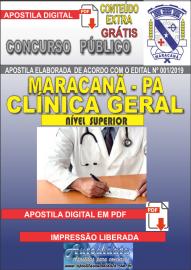 Apostila Digital Concurso de Maracanã/Pa 2019 – Clínica Geral