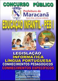 Apostila Impressa MARACANÃ/PA 2019 - Peb I  - Anos Iniciais E Educação Infantil