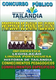 Apostila Impressa TAILÂNDIA/PA 2019 - Professor De Ensino Religioso