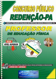 Apostila Digital Concurso Público Prefeitura de Redenção - PA - 2020 Professor de Educação Física