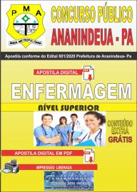 Apostila Digital Concurso Público Prefeitura de Ananindeua - PA 2020 Área Enfermagem