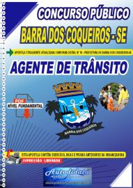 Apostila Digital Concurso Público Prefeitura de Barra dos Coqueiros - SE 2020 Agente de Trânsito