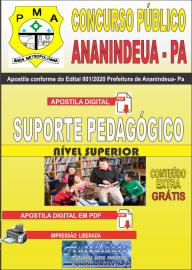 Apostila Digital Concurso Público Prefeitura de Ananindeua - PA 2020 Área Suporte Pedagógico