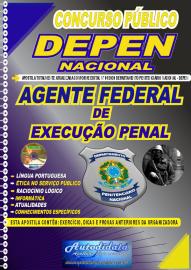 Apostila Impressa Concurso Público Departamento Penitenciário Nacional - DEPEN 2020 Agente Federal de Execução Penal