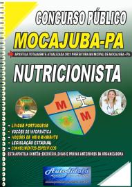 Apostila Impressa Concurso Público Prefeitura de Mocajuba - PA 2021 Nutricionista